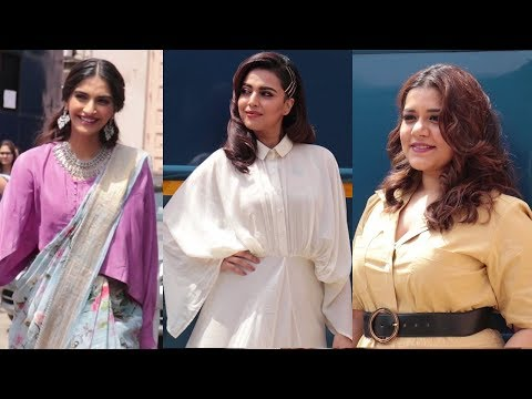 Sonam Kapoor, Swara Bhasker, Shikha Talsania Promo