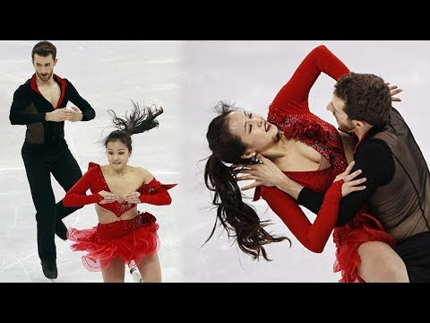 South Korean Ice Skater Yura Min Suffers Wardrobe Malfunction at 2018 Winter Olympics (видео)