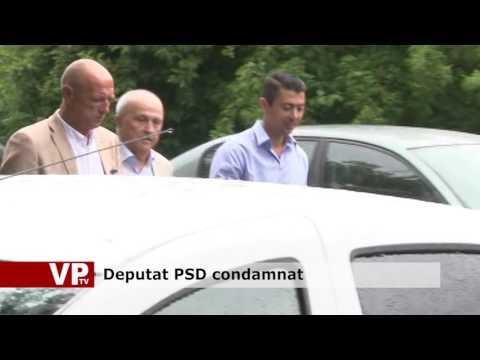 Deputat PSD condamnat