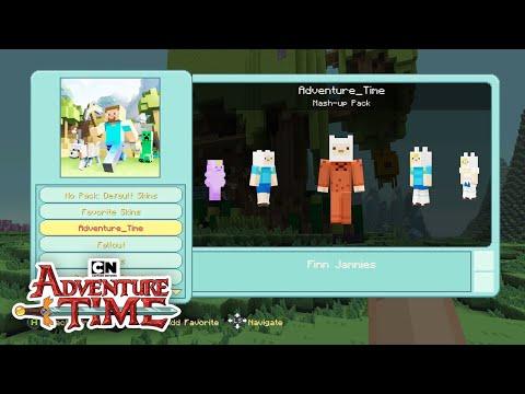 CN Playin | Adventure Time Minecraft: Survival Mode with Kayden! | Cartoon Network (видео)