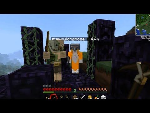 Minecraft PC – Feed The Beast W/iBallistic Squid – Highlights 1