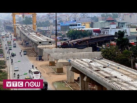 Đường sắt Cát Linh - Hà Đông lùi tiến độ đến 2021 | VTC1 - Thời lượng: 48 giây.