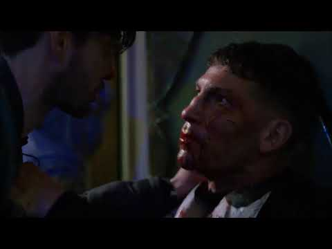 Punisher desfigura el rostro de Billy Russo | Pelea en el parque (parte 3) - THE PUNISHER 1X13