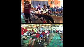 Korumburra Australia  City new picture : Australian National Tug of War Championships 2015 Indoor - Brisbane vs Korumburra - First End