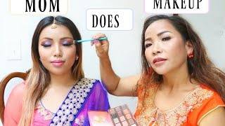 Mom does my Makeup by Promise Tamangphan