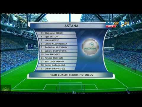 Astana vs Legia Warsawa 3-1 All Goals & Highlights - Champions League 26/07/2017 HD