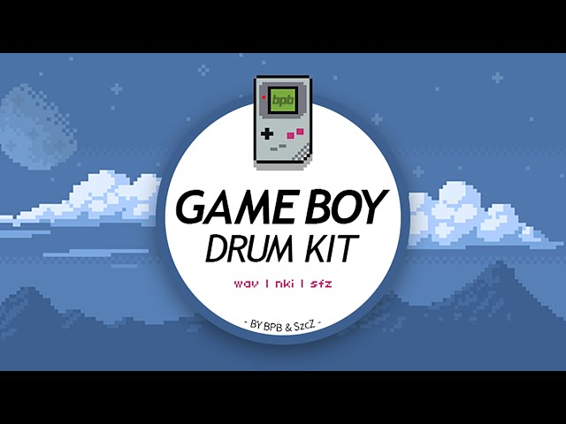 Game Boy Drum Kit DEMO (Free Sample Pack)