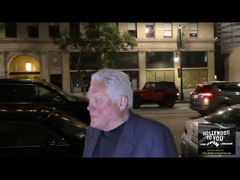G W  Bailey talks about rumors of another Police Academy movie outside Katsuya Restaurant in Hollywo