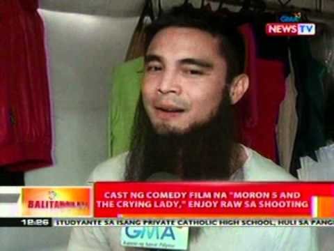 BT: Cast ng comedy film na 'Moron 5 and the Crying lady', enjoy raw sa shooting