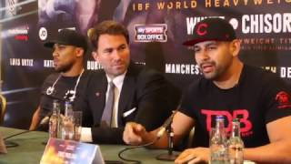 Anthony Joshua Vs Eric Molina Press Conference
