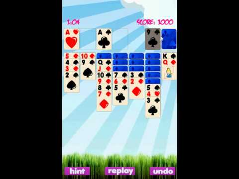 Video of Solitaire Game