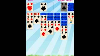 Solitaire Game YouTube video