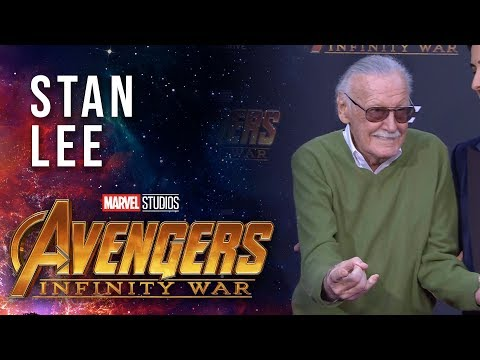 Vengadores: Infinity War - Stan Lee Live at the Avengers:Infinity War Premiere?>