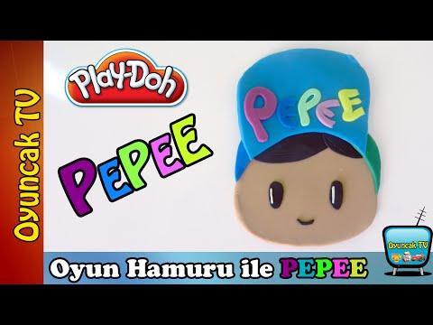 Oyun Hamuru ile Pepee Yapımı İzle | Oyun Hamurundan Pepee Çizgi Film Karakterleri