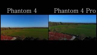 DJI Phantom 4系列比較影片