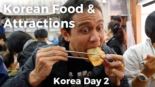 Video Amazing Korean Food and Attractions in Seoul! (Day 2) MP3, 3GP, MP4, WEBM, AVI, FLV November 2017