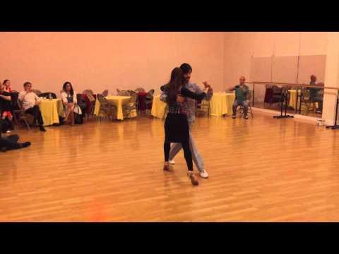 Tango class – Gustavo & Jesica – April 8 2015