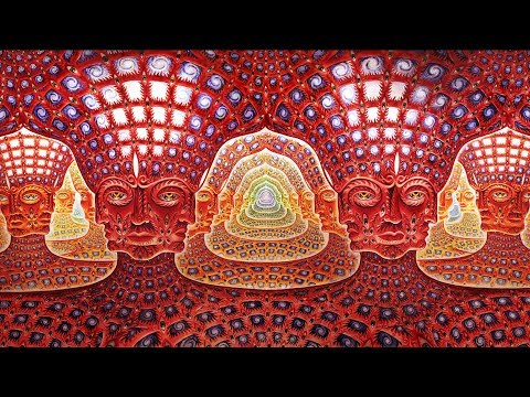 Random Oscillation – departure (Exploring the subconscious with Alex Grey)