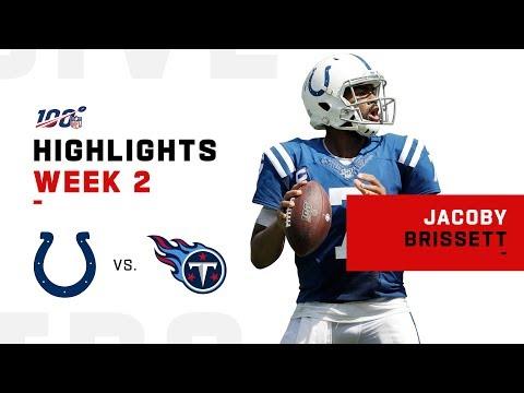 Jacoby Brissett's Triple-TD Day | NFL 2019 Highlights