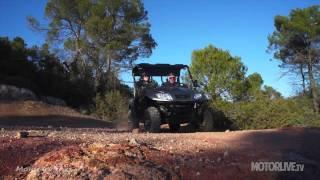 6. Vidéo Essai Kymco DX 500 et UXV 500