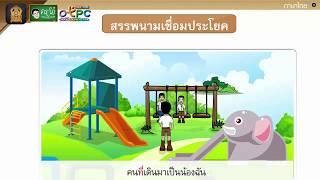 สื่อการเรียนการสอน คำสรรพนาม ป.4 ภาษาไทย