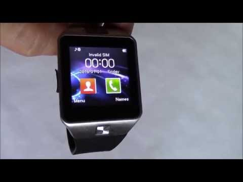 , title : 'How To Install A SIM Card And Memory Card On The DZ09 Smartwatch Phone'