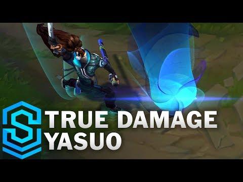 True Damage Yasuo Skin Spotlight - Pre-Release - League of Legends