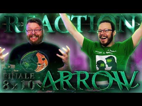 "Arrow 8x10 REACTION!! ""Fadeout"" - Series Finale"