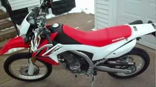 6. 2013 Honda CRF250L Review / Initial Thoughts