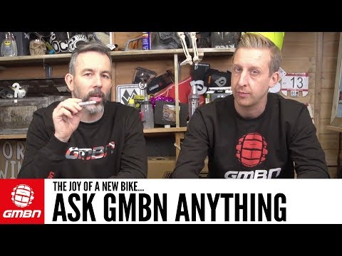 The Joy Of A New Bike | Ask GMBN Anything About Mountain Biking (видео)
