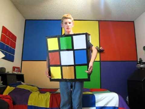 Rubik's Cube Costume!