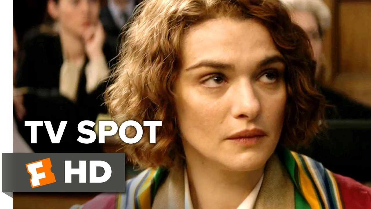 No holes no Holocaust. Rachel Weisz Fights Legal Battle to prove the Holocaust Happened in 'Denial' [TV Spot]