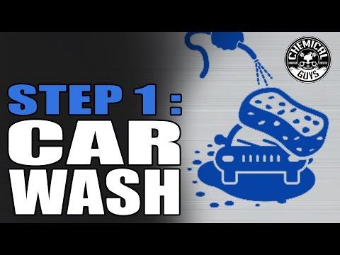 Guide til korrekt vask av bil