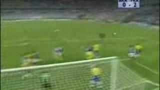 WM 1998: Zidanes Treffer im Finale gegen Brasilien