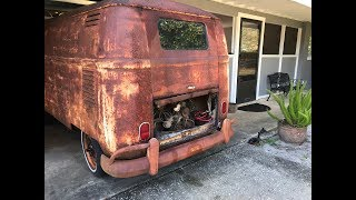 Video FIRST START IN OVER 40 YEARS - RESURRECTION RESTORATION!!! 1962 VW Type 2 Van/Bus, VW Kombi MP3, 3GP, MP4, WEBM, AVI, FLV Juni 2019