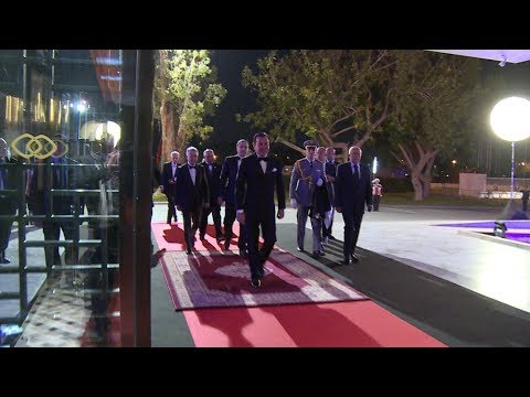 صاحب السمو الملكي الأمير مولاي رشيد يترأس حفل عشاء على شرف المدعوين لجائزة الحسن الثاني للغولف