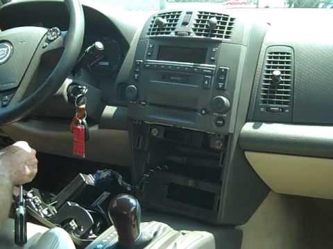Cadillac CTS Car Stereo Removal and Repair
