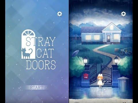 《逃脫遊戲 迷失貓咪的旅程 Stray Cat Doors》手機遊戲玩法與攻略教學!