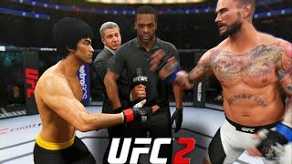 Nonton Ea Sports Ufc 2   Bruce Lee Vs Cm Punk   Epic Fight  Film Subtitle Indonesia Streaming Movie Download