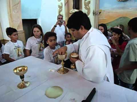 1ª Eucaristia - Paróquia Santo Antônio/Ewbank da Câmara