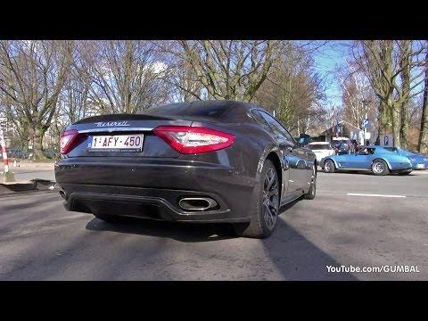 Maserati grancabrio s снимок