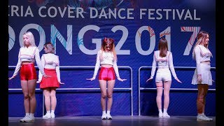 171118 Red Velvet (레드벨벳) - Zoo(Intro) + Red Flavor(빨간 맛) dance cover by Luminance @ Idong 2017