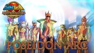vidéo Saint Seiya Brave Soldiers - PS3 - Poseidon Arc (Trailer)