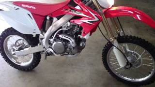 3. New 2009 Honda CRF450X