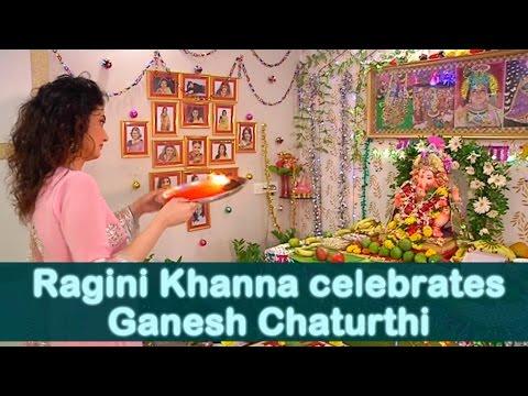 Ragini Khanna celebrates Ganesh Chaturthi