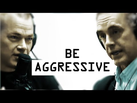 Being Aggressive Overcomes Fear - Jocko Willink and Jordan Peterson