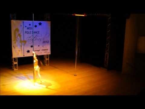 Dudinha Vieira - Semi finalista do 4º Campeonato de Pole Dance (видео)