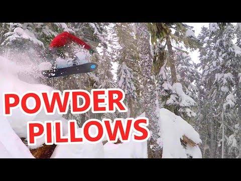 Endless Powder Pillows Mountain Adventure (видео)