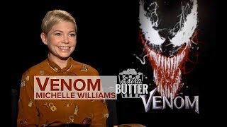Michelle Williams 'Venom' interview: Tom Hardy is a puppy dog | Extra Butter