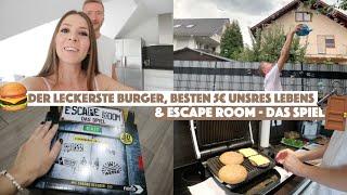 DER LECKERSTE BURGER, BESTEN 5€ UNSRES LEBENS & ESCAPE ROOM - DAS SPIEL - MY LIFE #79